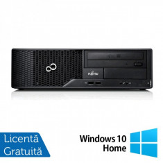 Calculator FUJITSU SIEMENS E510, Intel Core i3-2120 3.30GHz, 4GB DDR3, 500GB SATA, DVD-RW + Windows 10 Home - POS