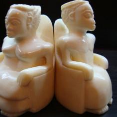 Statuete vechi fildes 445 grame / Sculptura fildes / Statueta fildes / africana