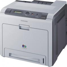 Imprimanta SAMSUNG CLP-660DN, 25 ppm, Duplex, Retea, USB 2.0, 2400 x 600, Laser, Color, A4 - Imprimanta laser color
