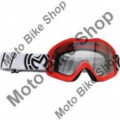 MBS Ochelari motocross copii Moose Racing Qualifier, rosu, sticla clara, Cod Produs: 26011901PE