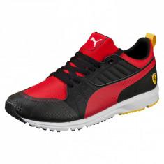 41,41.5,42.5,43_Adidasi originali barbati Puma Ferrari_negru/rosu_in cutie