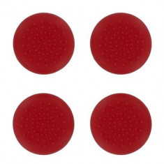 Set 4 Thumb Grips Red Ps4 - Consola PlayStation