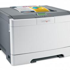 Imprimanta LEXMARK C543DN, 21 PPM, Duplex, Retea, USB, 1200 x 1200, Laser, Color, A4 - Imprimanta laser color