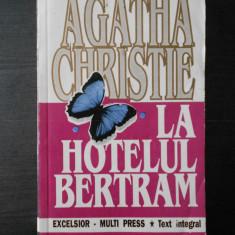 AGATHA CHRISTIE - LA HOTELUL BERTRAM - Carte politiste