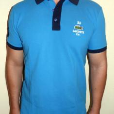Tricouri LACOSTE - Noua Colectie !!! - Tricou barbati, Marime: S, Culoare: Albastru, Maneca scurta, Bumbac
