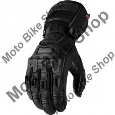 MBS Manusi textile impermeabile Icon Raiden Alcan, negru, M, Cod Produs: 33012639PE