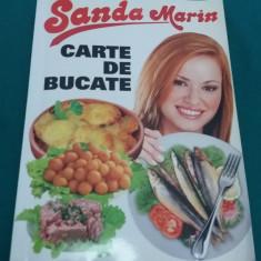 CARTE DE BUCATE/ SANDA MARIN /1996 - Carte Retete traditionale romanesti
