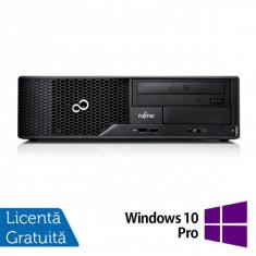 Calculator FUJITSU SIEMENS E510, Intel Core i3-2120 3.30GHz, 4GB DDR3, 500GB SATA, DVD-RW + Windows 10 Pro - POS