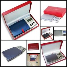 CANTAR ELECTRONIC BUZUNAR BIJUTERII DIAMOND BATERII CADOU PRECIZIE 0, 1-500 g - Cantar bijuterii