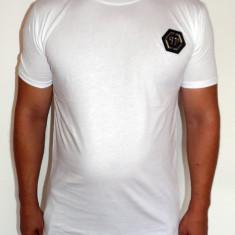 Tricouri PHILIPP PLEIN - Noua Colectie !!! - Tricou barbati, Marime: S, XL, Culoare: Alb, Maneca scurta, Bumbac