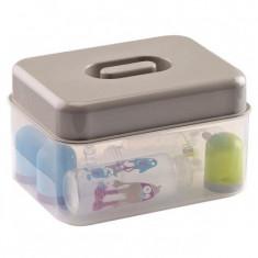 Sterilizator biberoane microunde / la rece Gri - Thermobaby - Suzeta