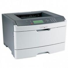 Imprimanta Laser Monocrom Lexmark E462DN, Duplex, Retea, A4, 40 ppm, Parallel si USB, 1200, 40-44 ppm