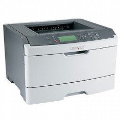 Imprimanta Laser Monocrom Lexmark E462DN, Duplex, Retea, A4, 40 ppm, Parallel si USB - Imprimanta laser alb negru Lexmark, DPI: 1200, 40-44 ppm