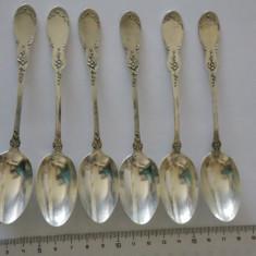 Set lingurite argint vintage