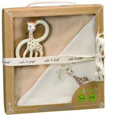 Set pentru nou-nascuti bio So Pure Girafa Sophie - Vulli