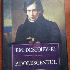 Adolescentul. Editie cartonata. Polirom, 2011 - F.M. Dostoievski