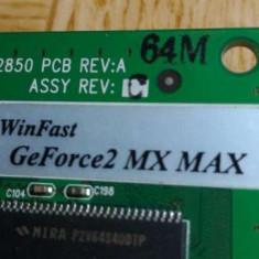 Geforce 2 mx max winfast placa video 512 mb - Placa video PC Gigabyte