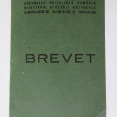 Rar! Brevet de alpinist militar acordat unui General-Maior in 1983