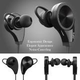 Casti Bluetooth cu microfon Headphones noise cancelling (negru)
