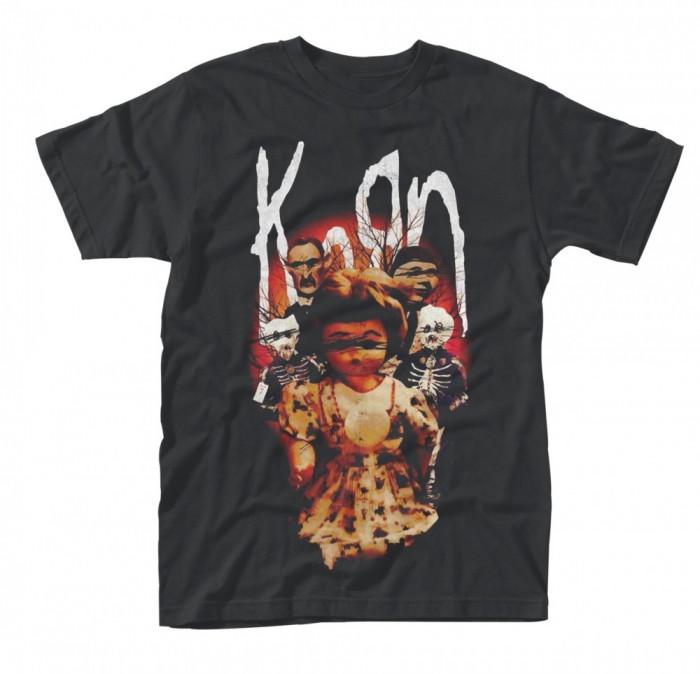 Tricou Korn - Dolls foto mare