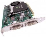 Placa video PCI-E NVIDIA Quadro FX370, 256MB, 64bit, 2xDVI, High Profile, PCI Express