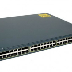 Switch Cisco WS-C3548-XL-EN, 48 porturi RJ-45 10/100, 2 Sloturi Gbic 1000Base SX - Server Cisco