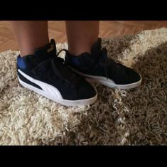 Bascheti originali - Ghete copii Nike, Marime: 36.5, Culoare: Bleu