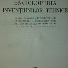 NIC. P. CONSTANTINESCU - ENCICLOPEDIA INVENTIUNILOR TEHNICE