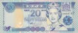 Bancnota Fiji 20 Dolari (2002) - P107 UNC