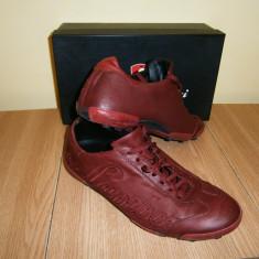 Pantofi sport-casual barbati Lamborghini, mar 41, piele! - Adidasi barbati, Culoare: Rosu