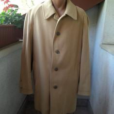 PALTON /PARDESIU SCURT BURBERRY ORIGINAL LANA MARIME XL - Palton barbati, Culoare: Camel