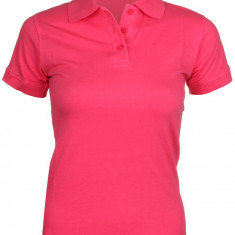 084, Stretch Tricouri polo femei rosu XL - Tricou dama