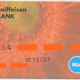 Card bancar Mastercard Raifeissen