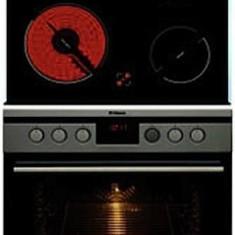 Pachet Cuptor si Plita Hansa BCCI64195055, 8 functii, 66 l, 4 arzatoare