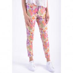 Pantaloni Lungi Bumbac Vero Moda Arlie Wonder Ancle Portocaliu - Pantaloni dama Vero Moda, Marime: 25, 26, 27, 28, 29, 30, 31, Culoare: Multicolor