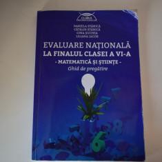 Clubul Matematicienilor Ghid de pregătire Evaluare Națională clasa a6a Matmatică - Carte Teste Nationale Altele