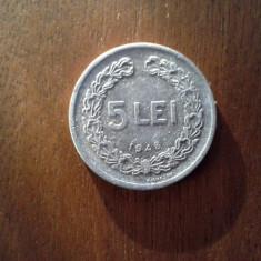 5 lei 1949 RPR - Moneda Romania