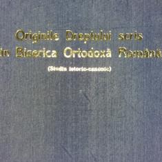 IOAN N. FLOCA - ORIGINILE DREPTULUI SCRIS IN BISERICA ORTODOXA ROMANA