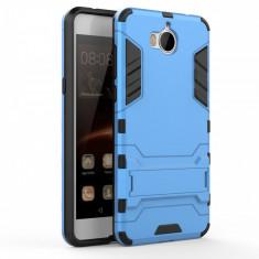 Husa Huawei Y6 2017 - Hybrid Stand - Husa Telefon Huawei, Albastru, Gel TPU
