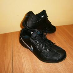 Pantofi sport dama NIKE, marimea 37, piele! - Adidasi dama Nike, Culoare: Negru