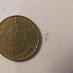 CY - 10 centimes 1963 Franta