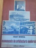 Monumente de arhitectura moderna de Jean Monda