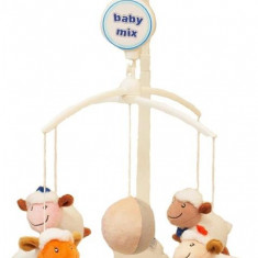 Carusel Muzical Counting Sheep - Jucarie interactiva Baby Mix