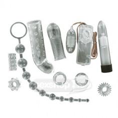 Seturi cu vibratoare - Toyz4Lovers Foarte Vandut Set Placere de Diamant Transparent - Set vibratoare