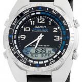 Casio AMW-700B-1AV ceas barbati nou 100% original. 2 culori - Ceas barbatesc Casio, Casual, Quartz, Inox, Material textil, Data