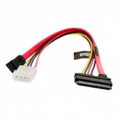 Cablu alimentare HDD 4World SATA 3 25cm transfer de date Rosu - Cablu PC
