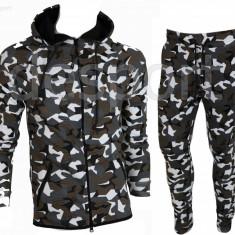 Trening barbati Nike Camuflaj US ARMY - Bluza si Pantaloni Conici - Calitate Premium, Marime: XS, S, M, Culoare: Din imagine