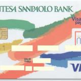 Card bancar Visa Intensa