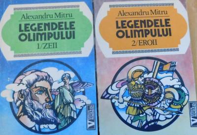 Legendele Olimpului (2 vol: Zeii + Eroii) de Alexandru MItru foto