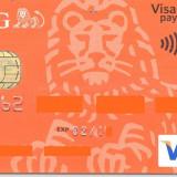 Card bancar Mastercard ING